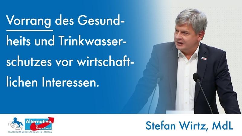 Weder Regelungslücke noch Wild West Stefan Wirtz MdL AfD zum Gesundheits und Trinkwasserschutz смотреть онлайн без регистрации
