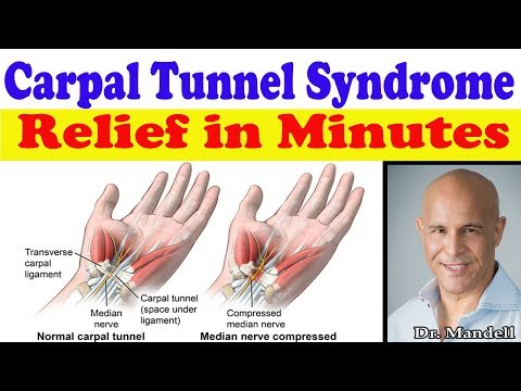 Carpal Tunnel Syndrome: Fast Natural Relief in Minutes - Dr Alan Mandell, DC
