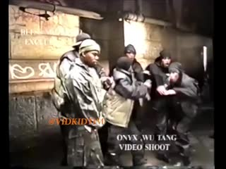 Onyx & wu-tang clan the worst (videoshoot at chinatown, manhattan, nyc) (january, 1998)