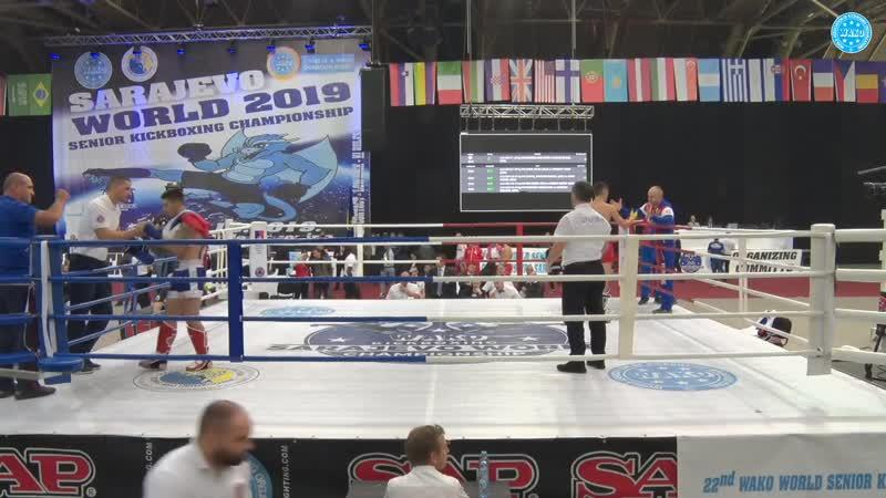 TUINOV VLADISLAV vs TODOROVIC NIKOLA WAKO World Championships 2019