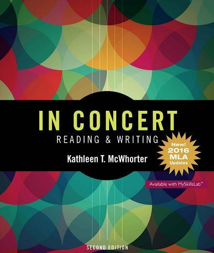 In Concert An Integrated Approach to Reading and Writing, 2nd Edition
