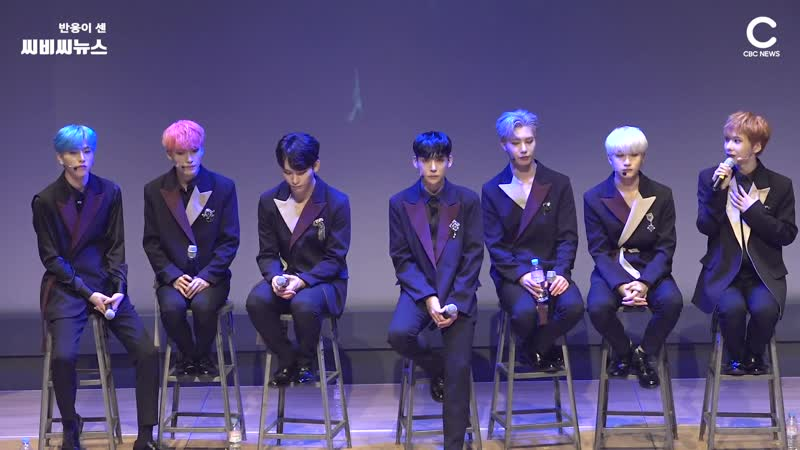 [NEWS] 19.11.19 AWEEK Showcase The Birth Of Seven (Full Talks) @ CBCNEWS