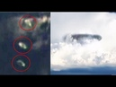 Fleet Of Huge UFO Motherships Seen Over Ocean From ISS Live Camera