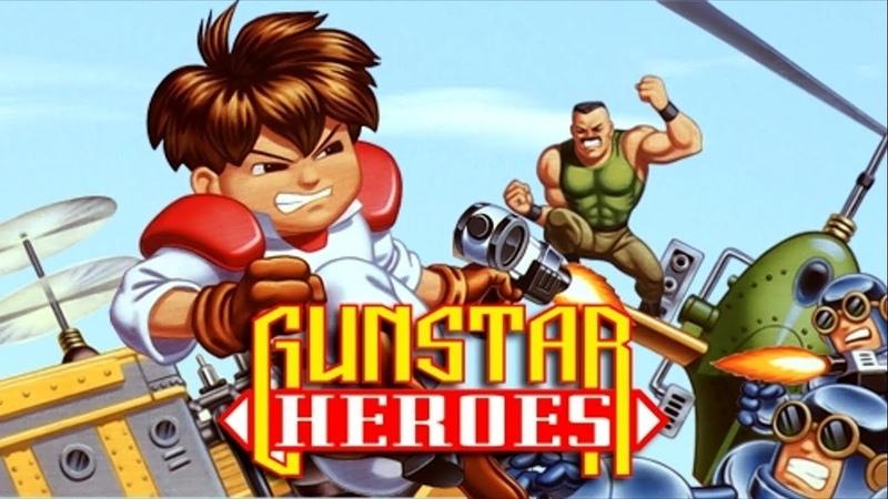 Gunstar Heroes. SEGA Genesis. Walkthrough