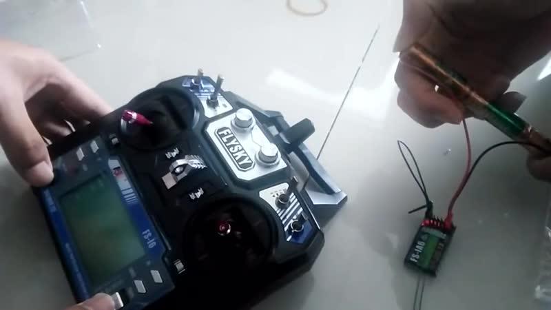 FlySky FS i6 2 4G 6CH AFHDS передатчика радиоуправляемой модели