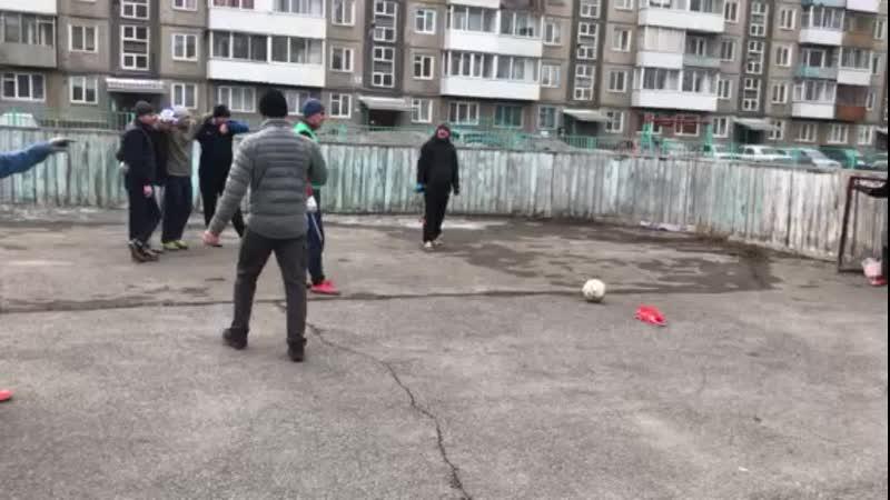 Дворовый футбол Пенальти с Адриналином ЛОКОМОТИВ ЧЕМПИОН⚽