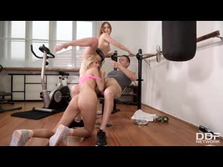 [DDFNetwork] Mary Rock, Missy Luv - Threesome Gets Kinky In The Gym NewPorn2020