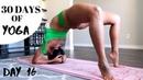 DAY 16 OF 30 DAYS YOGA CHALLENGE BACKBEND PRACTICE