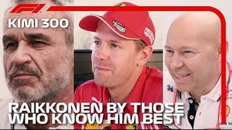 Kimi Raikkonen's 300th F1 Race Paddock Tributes 2019 Monaco Grand Prix