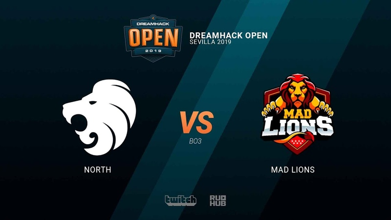 North vs MAD Lions - DH Open Sevilla 2019 - map1 - de_overpass [sleepsomewhile MintGod]