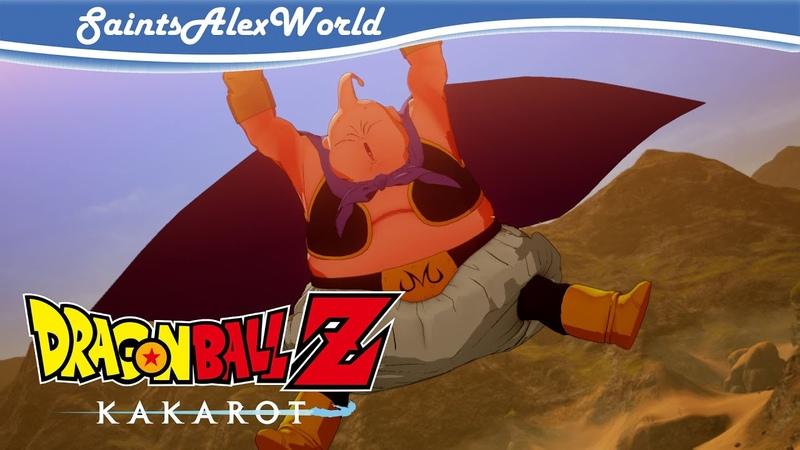 Dragon Ball Z Kakarot PC Прохождение на русском 18 Инцидент на турнире Босс Мадзин Буу
