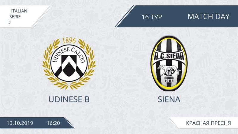 AFL19. Italy. Serie D. Day 16. Udinese - Siena