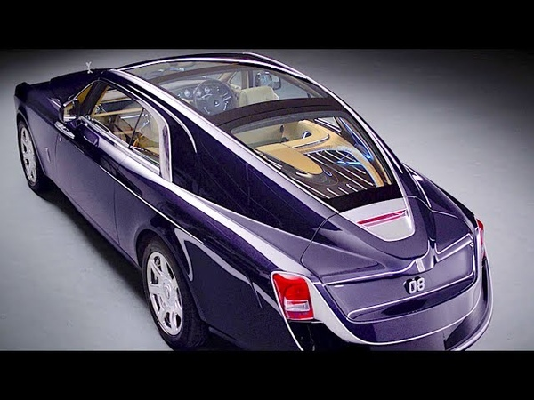 Rolls Royce Sweptail INTERIOR World's Most Expensive New Car Rolls Royce Phantom 2018 CARJAM