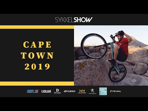 CAPE TOWN 2019 Biketrial in South Africa SYKKELSHOW