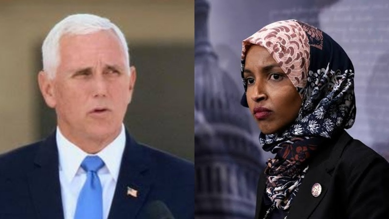 MUST WATCH! Mike Pence Gets Up And RIPS Ilhan Omar To SHREDS