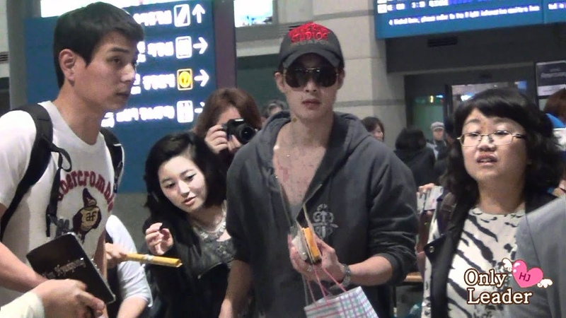 2012 05 06 Kim hyun joong fancam @ Incheon Airport Arrival from singapore смотреть онлайн без регистрации