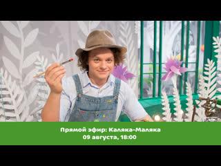 """Ведущий программы """"давайте рисовать"""" каляка-маляка ответит на ваши вопросы в прямом эфире!"""