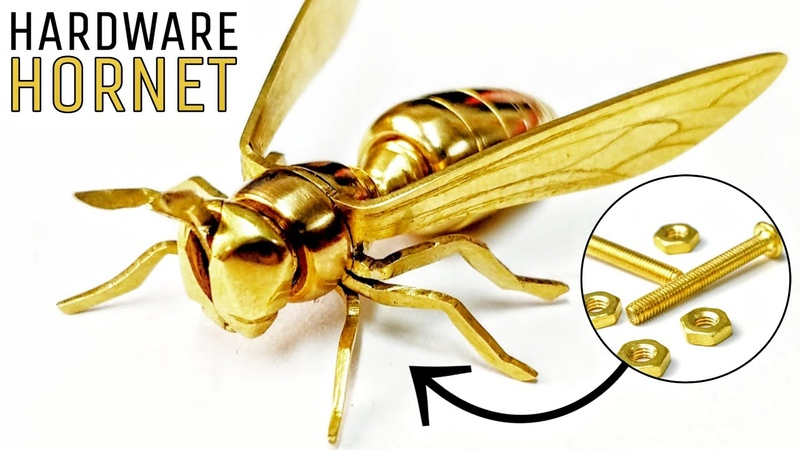 I Turn Some NUTS and BOLTS into a WASP Hardware Hornet