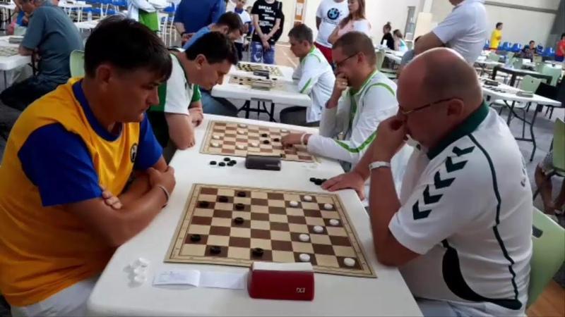 Норвайшас - Митченко. Командный чемпионат мира 2019