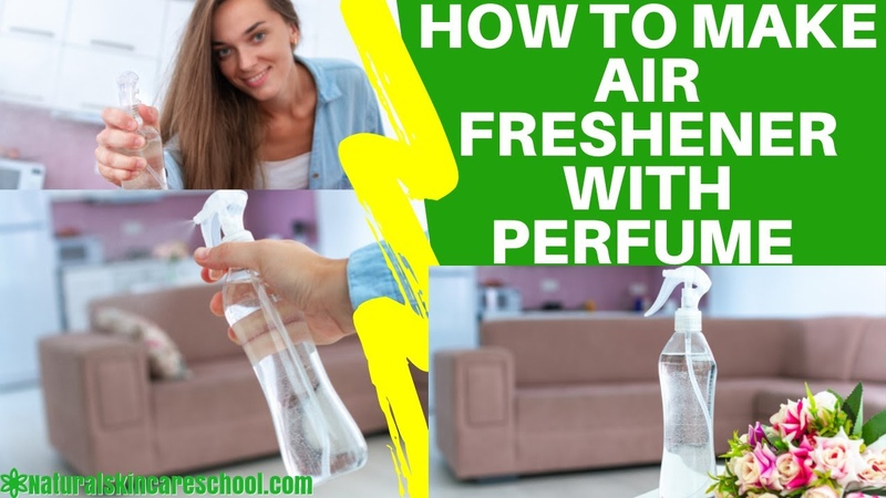 How To Make Air Freshener Spray With Perfume Fragrance Oil DIY Spray Without Essential Oil