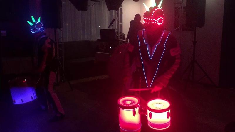 Шоу барабанщиков от лучшей команды в москве