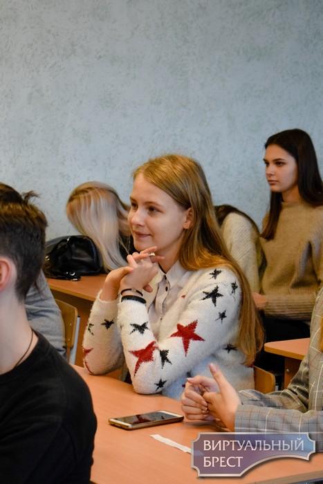 В СШ №3 г. Бреста прошло заседание Школы Активного Гражданина
