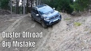 Dacia Duster 2019 Offroad Downhill Gone Wrong