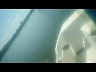 Поплавали на катамаране. Боязнь водорослей.