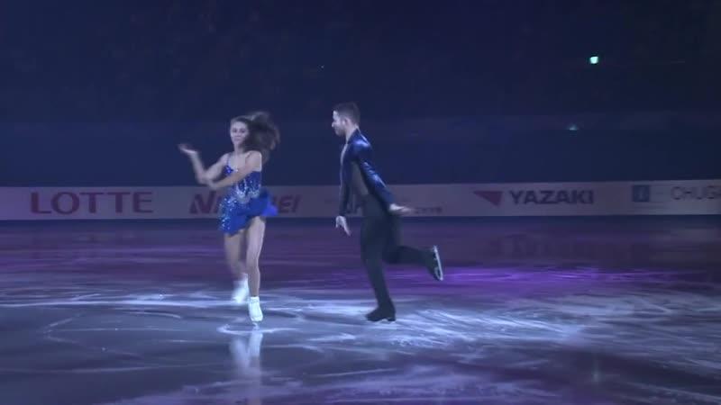 Лайла Фир - Льюис Гибсон. Показательные выступления. NHK Trophy в Японии