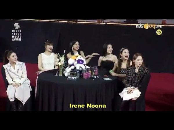 Eng Sub Red Velvet's Irene Kim Kang Hoon 29th Seoul Music Awards 2020