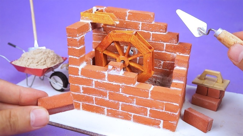 Faça uma Incrível Mini Roda D'Água com Mini tijolos