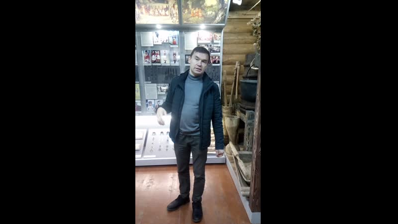 Лавка в музее в д Малый Сундырь таванен