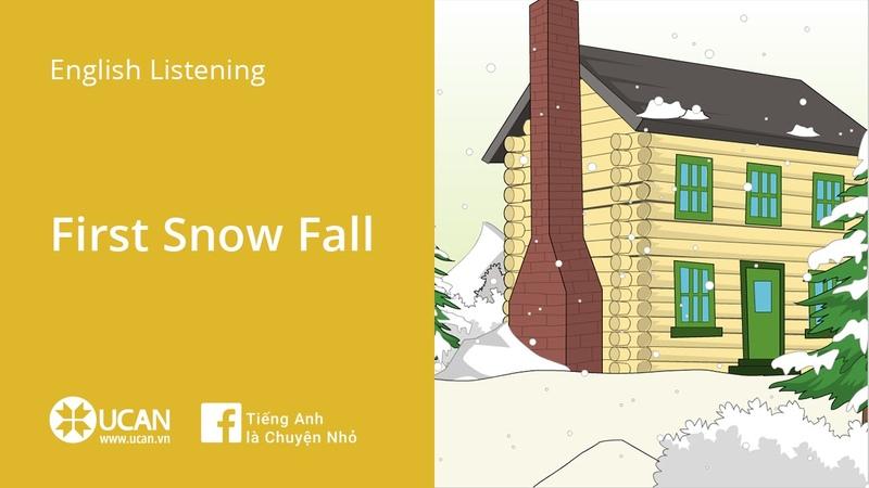Learn English Via Listening   Beginner - Lesson 1. First Snow Fall