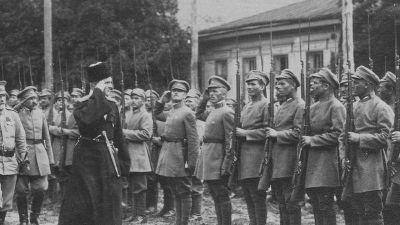 Військовий марш Калина памяті - Перша козацько-стрілецька (Сірожупанна) дивізія