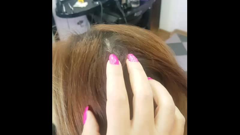 Окрашивание Шатушсоздает на Ваших волосах плавный переход от светлых кончиков к темным корням 😍 сложноеокрашивание сложное