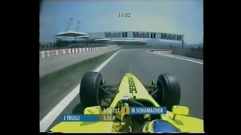 Ф-1 2001, 5 этап - Большой Приз (Гран-При) Испании - Квалификация (РТР БерниТВ)