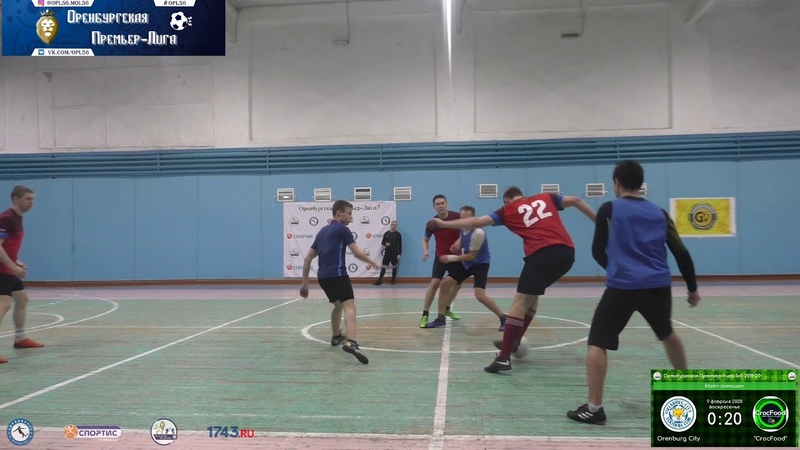 13 тур 5х5 Orenburg City бывш Дружина CrocFood 0 20