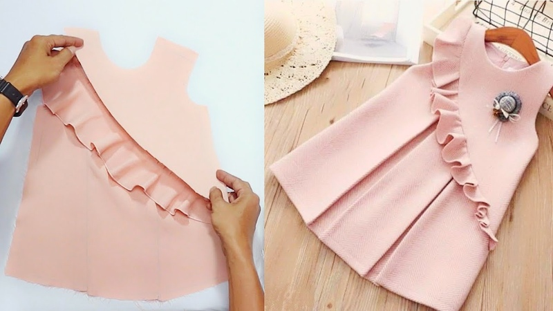 Simple kids dress (How to sew)