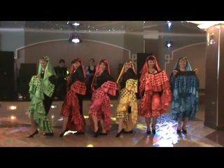 Восточный народный танец Нубия Очень зажигательно Арабский танец