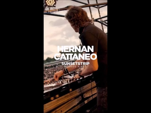 Hernan Cattaneo Oliverio Sunsetstrip Pre Mix Buenos Aires February 2020