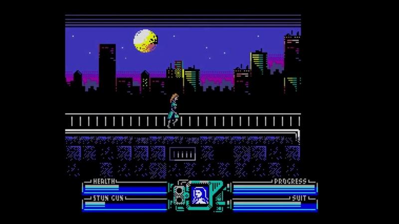 POWER BLADE Delta's shadow ZX Spectrum NEXT Jacqueline level