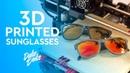 3D printed Sunglasses Anet A6 Modelado e impresión Gafas Impresas en 3D
