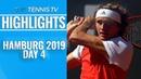 Zverev, Fognini Safely Through; Carreno Busta Defeats Struff | Hamburg 2019 Highlights Day 4