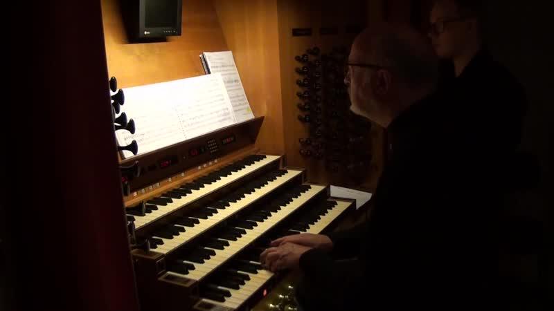 686 J. S. Bach - Aus tiefer Not schrei ich zu dir, Clavier-Übung III, BWV 686 - Eberhard Lauer, organ