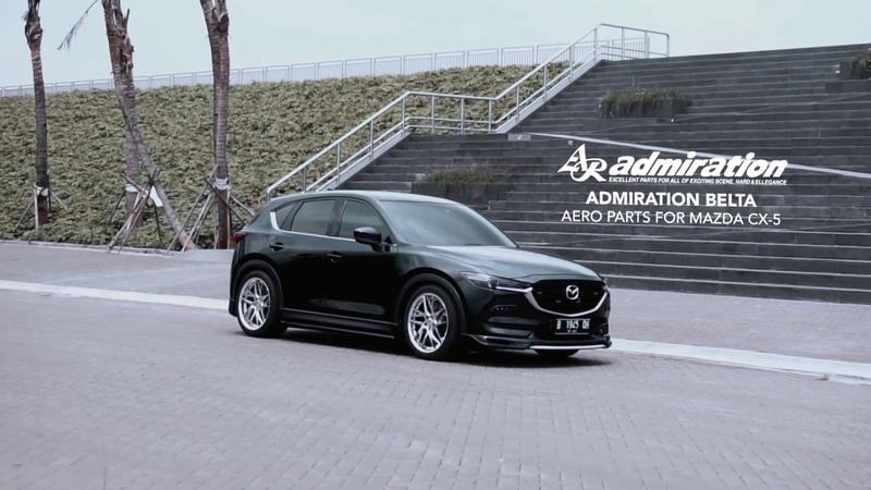 Mazda CX 5 Admiration Belta Bodykit SISUKA CORPORATION