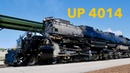 UNION PACIFIC No. 4014 No. 844 WHISTLE in Ogden UT, Great Race 150th Anniversary UP DONE