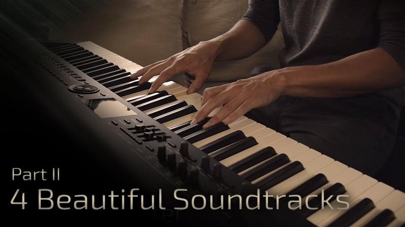 4 Beautiful Soundtracks Part II Relaxing Piano 16 min