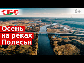 Днепр, Березина, Сож  осенние реки Восточного Полесья сняли с воздуха в 4k UHD