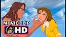 TARZAN Movie Clip - Jane Stay with Tarzan (1999) Disney Animation Film HD