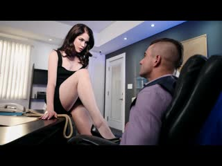 Evelyn claire the girls next door vol. 2 scene 2 (blowjob, black hair, office, natural tits)